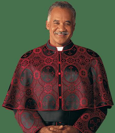 Eminence Brocade Clergy Cape