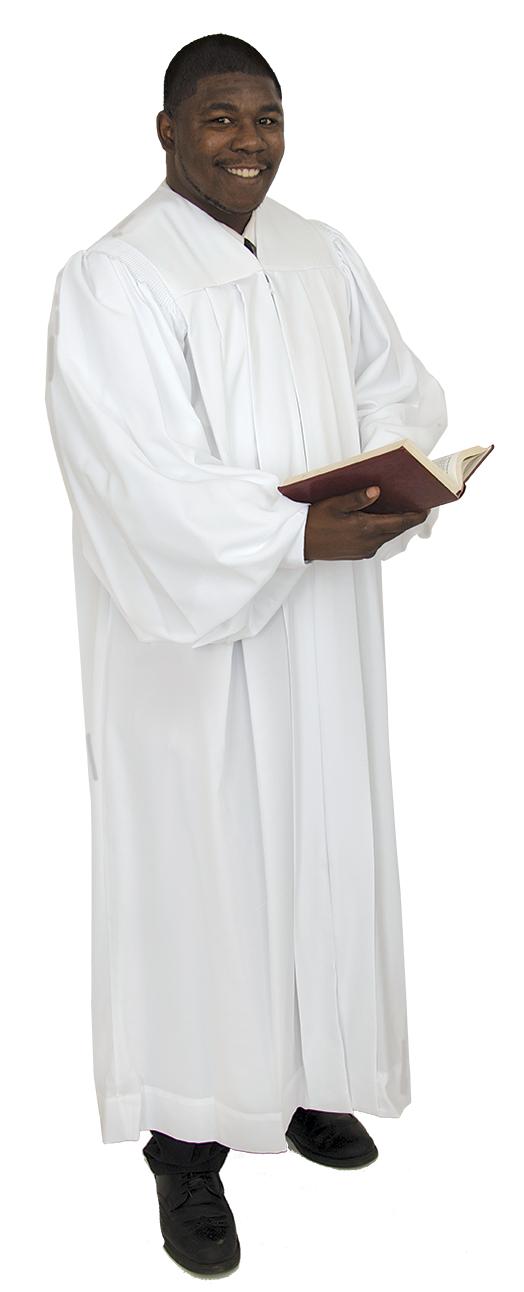 White Pulpit Robe Geneva
