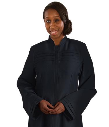 Women's Black Church Dress