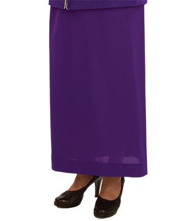 Womens Purple Clergy Skirt