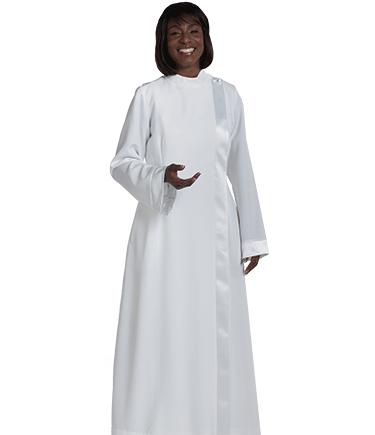 Womens White Clergy Alb