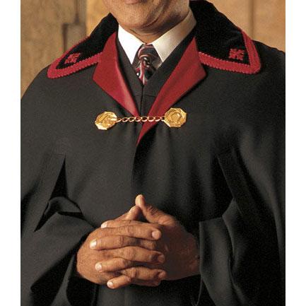 black clergy cape