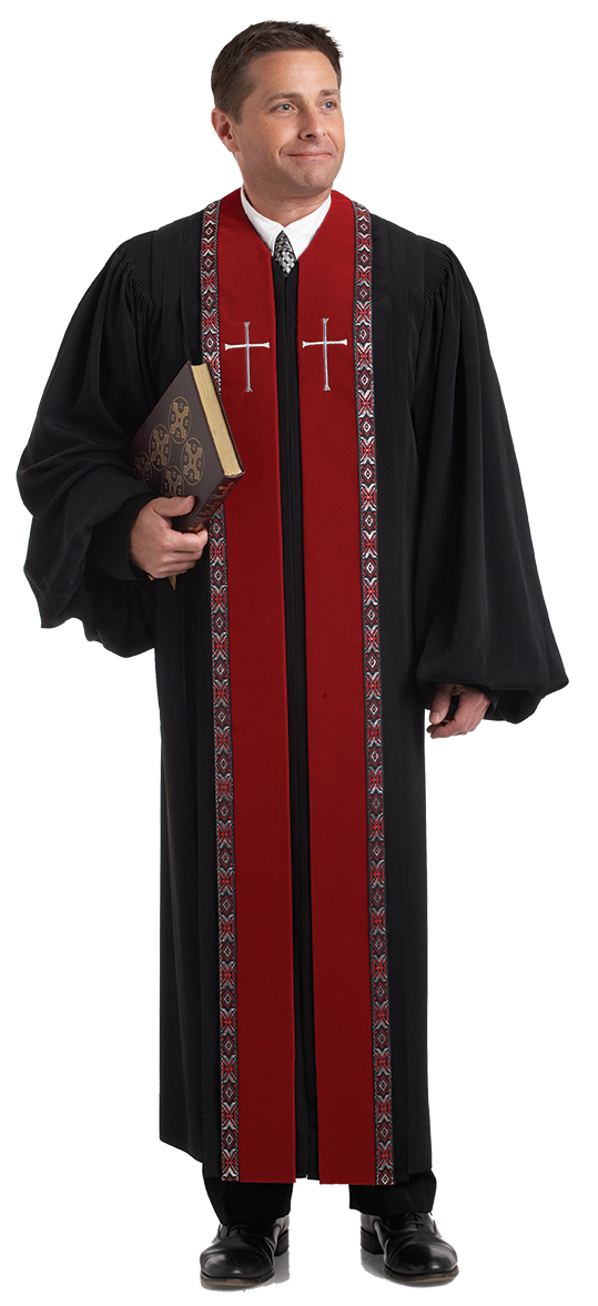 mens pulpit robe wesley