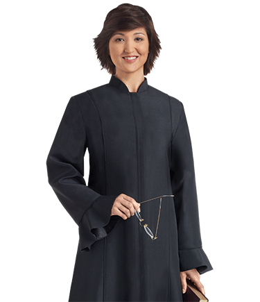 womens black clergy dresses