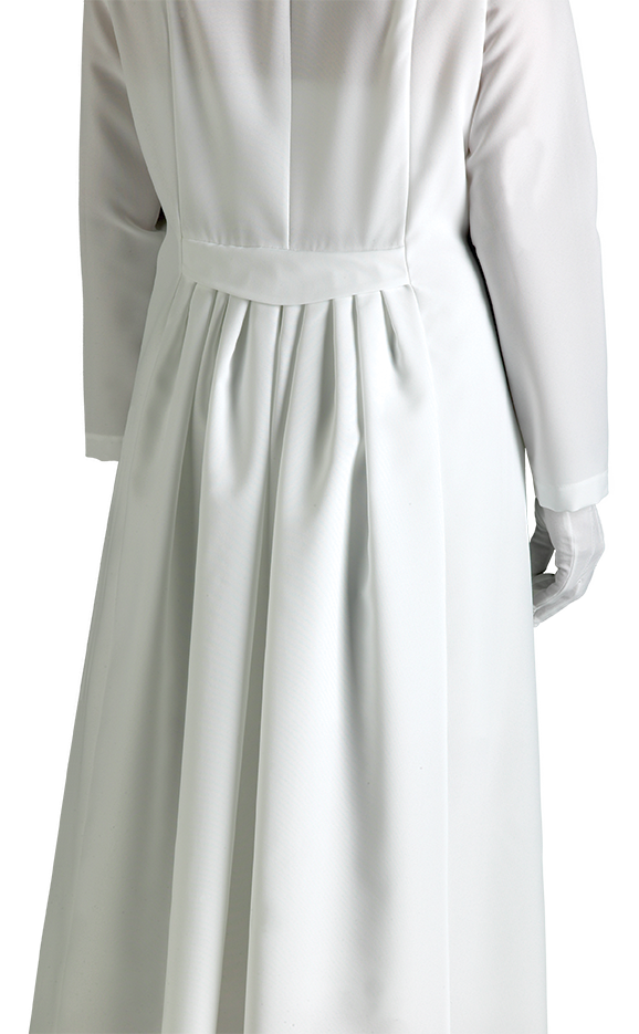 women's white church dress
