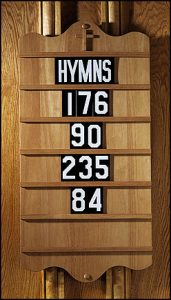 Hymnal Boards