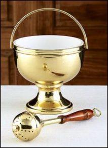Holy Water Pots & Sprinklers
