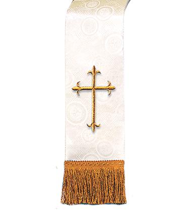 Church Bible Marker Ivory Brocade