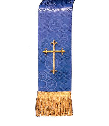 Church Bible Marker Purple Brocade