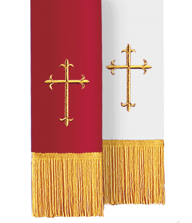 Reversible Church Bible Marker Red to White