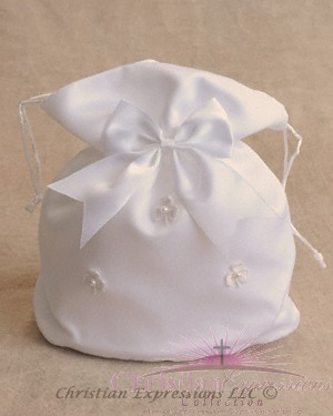 First Communion Purse-Irish Shamrocks