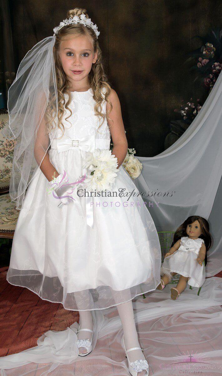 Taffeta Holy Communion Dress