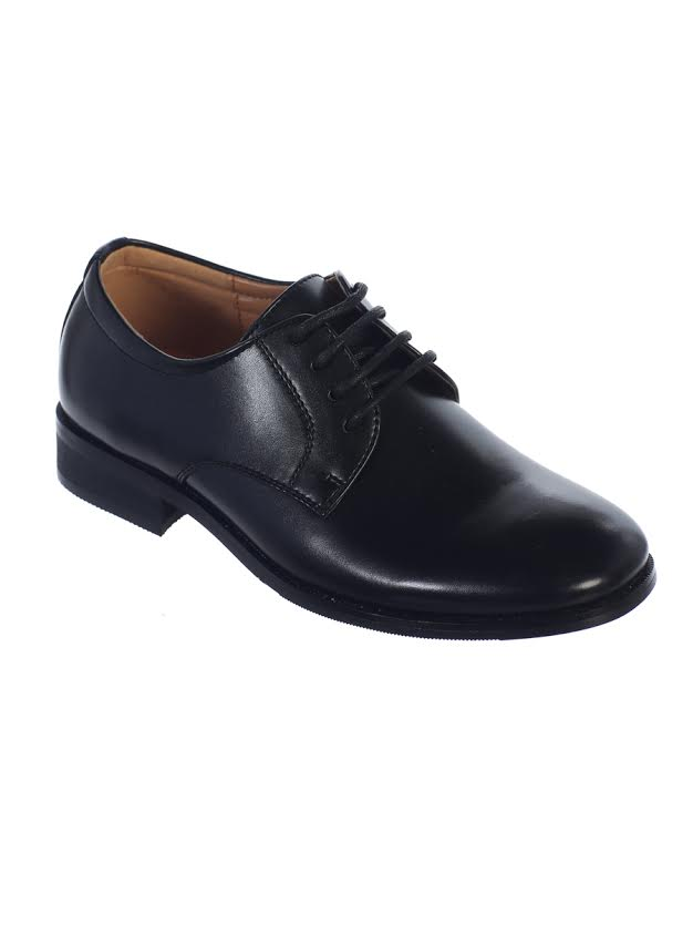Boys Black First Communion Shoes