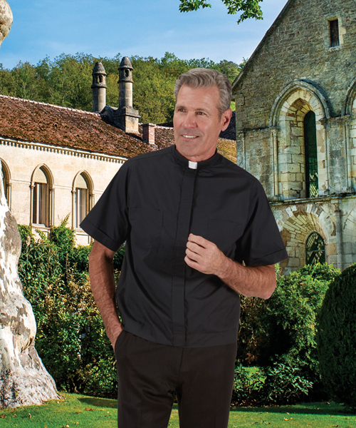 Summer Comfort Jak Clergy Shirt