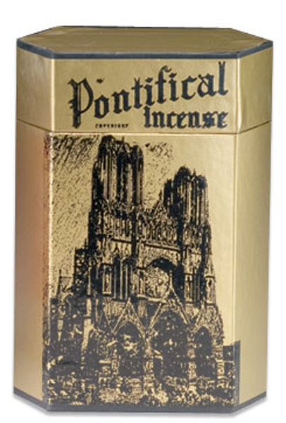 Pontifical Church Incense