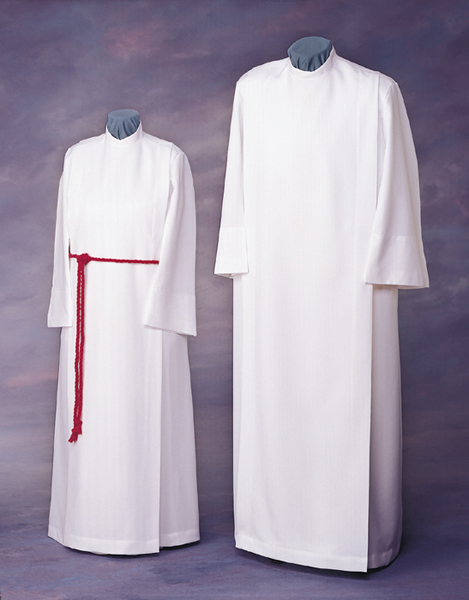 Liturgical Front Wrap Alb