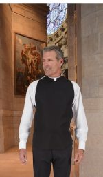 Easy Care Roman Clergy Shirtfront Vest