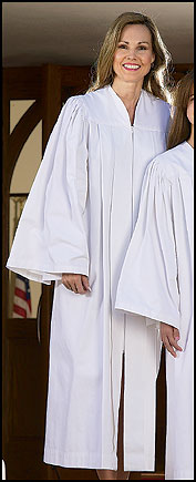 Adult Candidate Baptismal Gown
