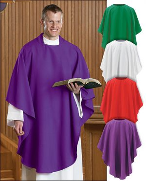 Everyday Clergy Chasuble
