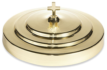 Solid Brass Communion Tray Cover