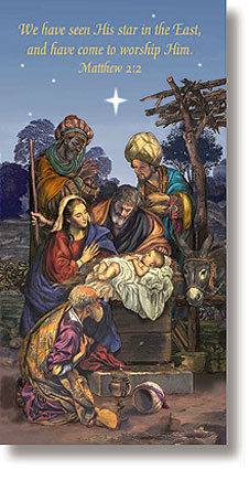 Wise Men Christmas Church Banner