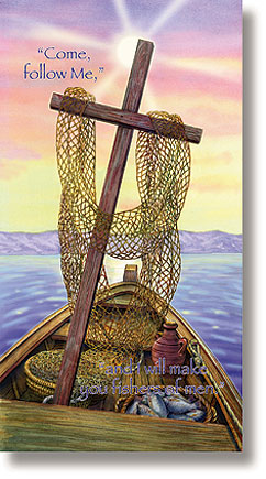 Fishers of Men Scripture Church Banner
