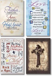 Scripture Series Church Banner Set