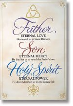Holy Trinity Scripture Banner