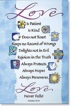 1 Corinthians 13:4 Scripture Banner