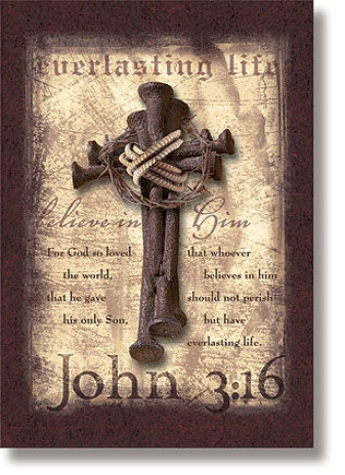 John 3:16 Scripture Church Banner