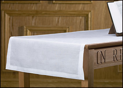 "65% poly/ 35% cotton communion table runner -- 24 x 62""L"