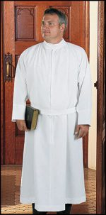 Polyester Self-Fitting Clergy Alb
