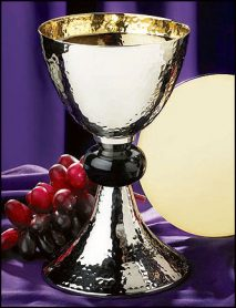 Hammered Chalice and Paten
