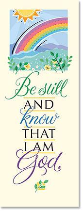 Be Still Scripture Church Banner