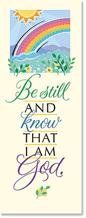 Be Still Scripture Church Banner