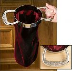 Church Collection Offering Bags with Sculpted Handles 2 Pk