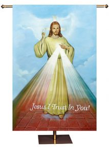 Divine Mercy Church Banner