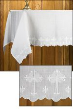 Scallop Edged Altar Frontal