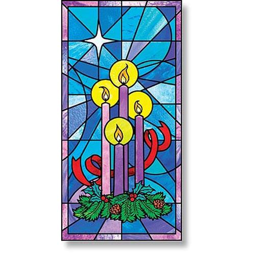 Celebrate Advent Church Banner