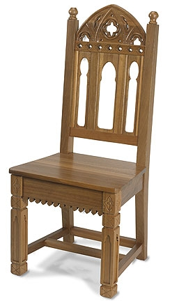 Celebrants Chair for Altar Medium Oak
