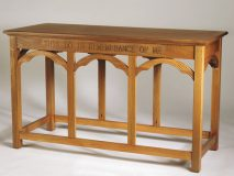 Communion Table This Do In Remembrance of Me