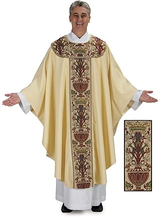 Coronation Chasuble with Coronation Design Collar