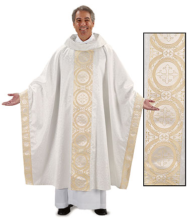 Jacquard Clergy Chasuble