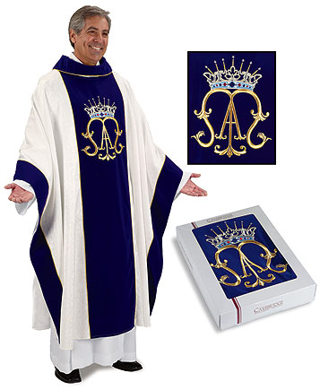 Marian Priest Chasuble