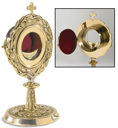 Monstrance with Removable Luna