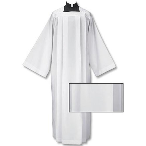 Plain Box Pleated Clergy Alb