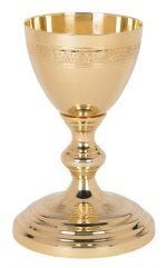 etched design chalice