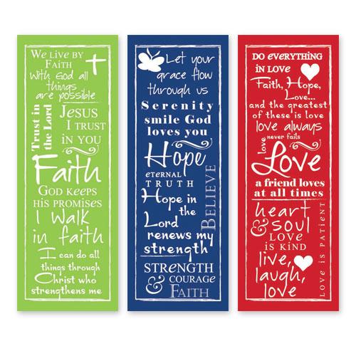 Written Reflections Scripture Church Banner Set