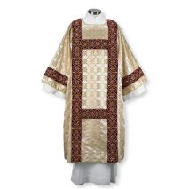 Gold Jacquard Embroidered Dalmatic