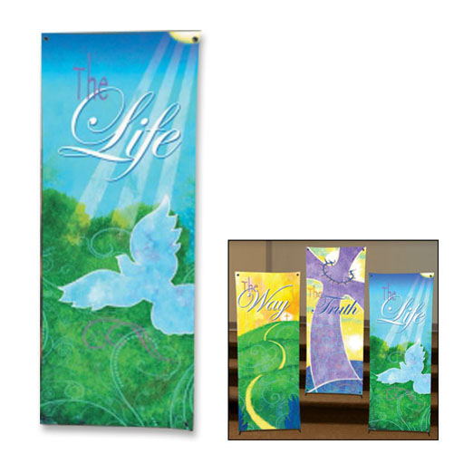 The Life Scripture Church Banner
